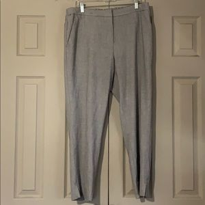Stretchy Waist Work Ankle Pant